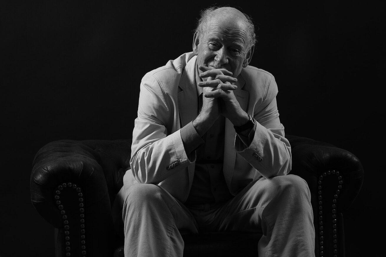 Franz Hohler – Schriftsteller – Portrait Troy Fotografie Olten