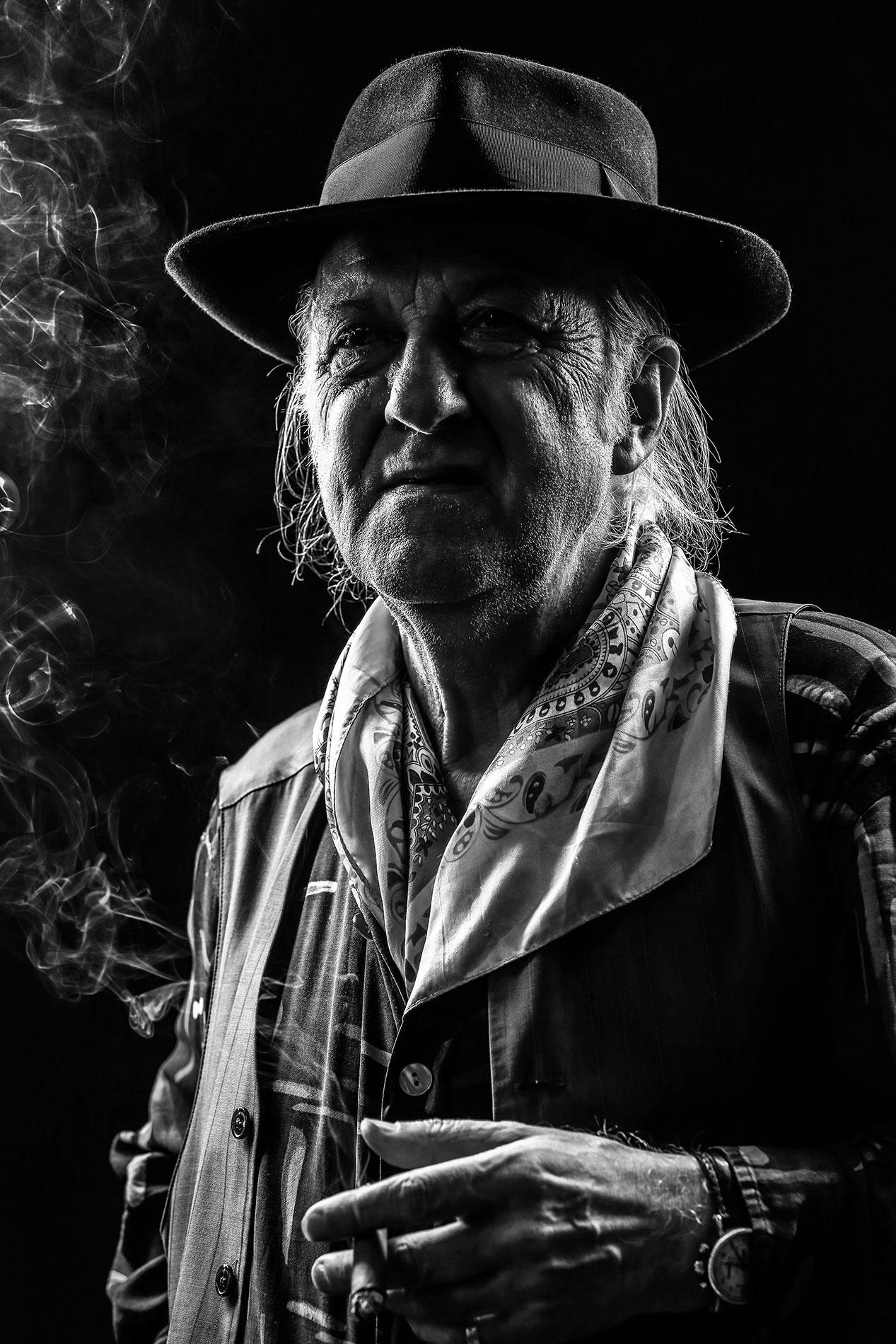 Urs Borner – Maler – Portrait Troy Fotografie Olten