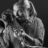 Fabienne Hoerni - Saxophonistin - Portrait Troy Fotografie Olten